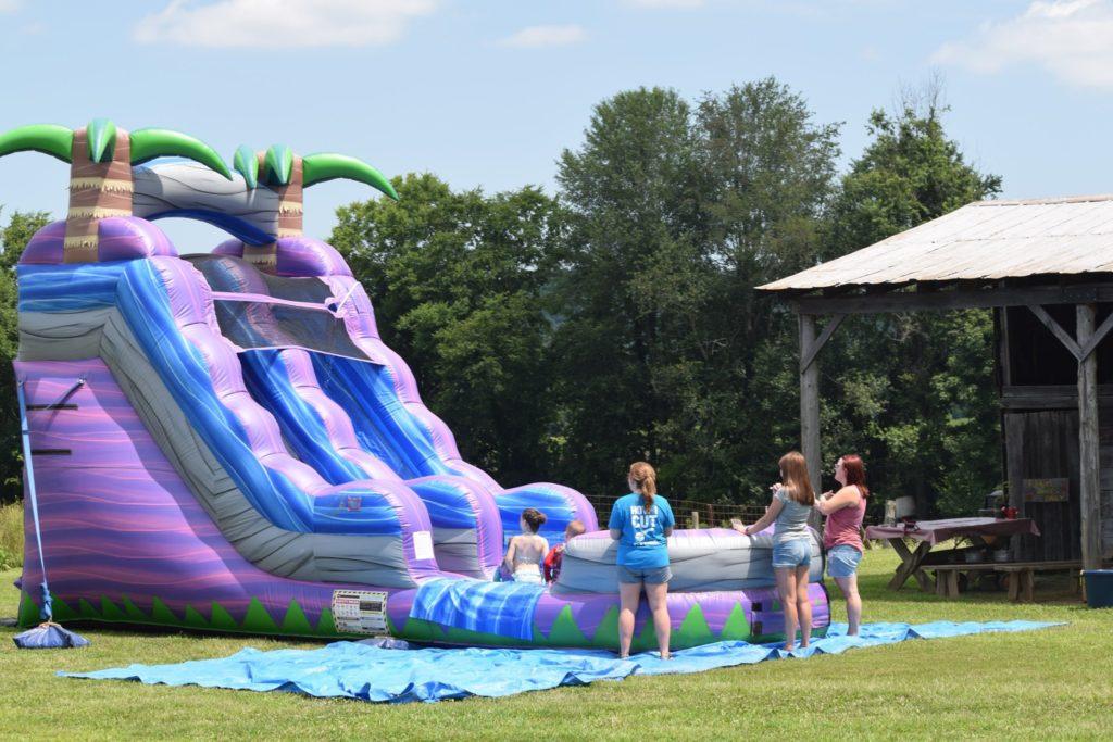 Splash Day at Christian Way Farm